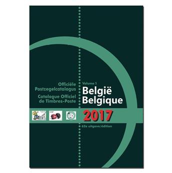 COB 2017 (Timbres de Belgique)