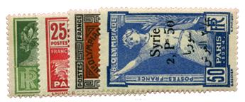 n°149/152* - Timbre Syrie Poste