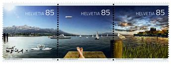 n° 2376 - Timbre SUISSE Poste