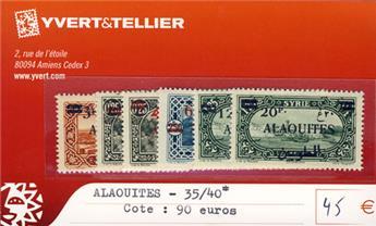 ALAOUITES - n° 35/40*