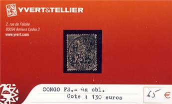 CONGO - n° 4a Obl.