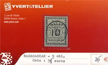 MADAGASCAR - n° 9 Obl.