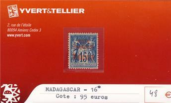 MADAGASCAR - n° 16*