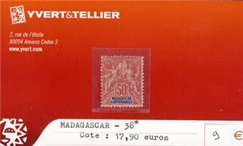 MADAGASCAR - n° 38*