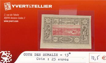 COTE DES SOMALIS - n° 13*