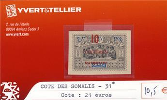 COTE DES SOMALIS - n° 31*