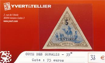 COTE DES SOMALIS - n° 35*