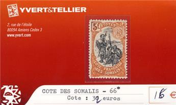 COTE DES SOMALIS - n° 66*