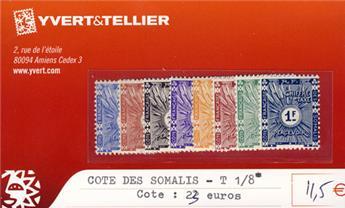 COTE DES SOMALIS - Taxe n° 1/8*