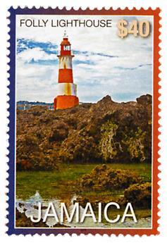 n° 1201 - Timbre JAMAIQUE Poste