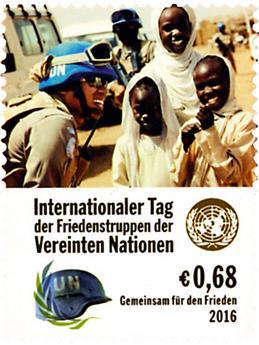 n° 911 - Timbre ONU VIENNE Poste