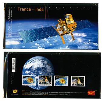 2015 - Joint issue-France-India