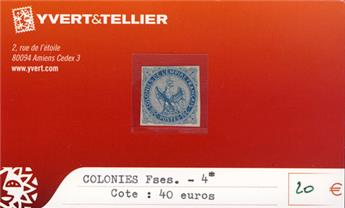 COLONIES FRANCAISES - n° 4*