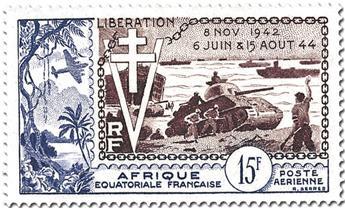 Grande Série Coloniale : 10e Anniversaire de la Libération (1954)