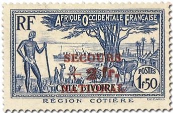 Grande Série Coloniale : Secours National (1941)