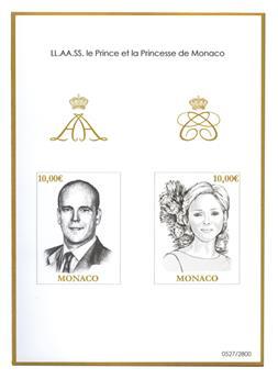 n° 102 : Timbre Monaco Blocs et Feuillets (ND)