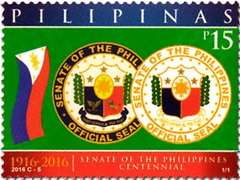 n° 4025 - Timbre PHILIPPINES Poste