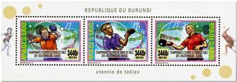 n° 2363/2366 - Timbre BURUNDI Poste