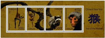 n° 18 - Timbre CURACAO Blocs et feuillets