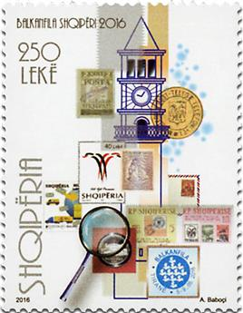 n° 3193 - Timbre ALBANIE Poste