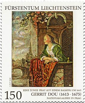 n° 1763 - Timbre LIECHTENSTEIN Poste