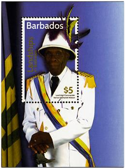 n° 58 - Timbre BARBADE Blocs et feuillets