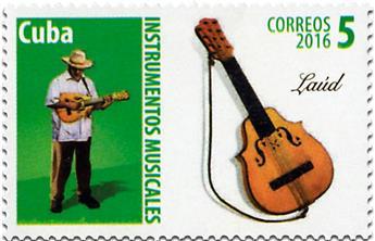 n° 5474A/5474E - Timbre CUBA Poste