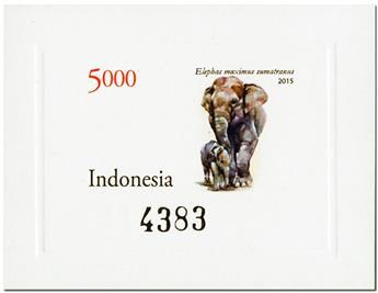 n° 310A/310G - Timbre INDONESIE Blocs et feuillets