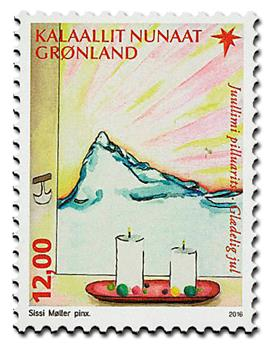 n° 716 - Timbre GROENLAND Poste