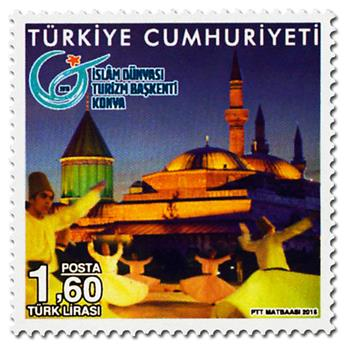 n° 3806 - Timbre TURQUIE Poste