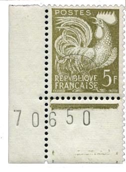 n°107** - Timbre France Préoblitérés