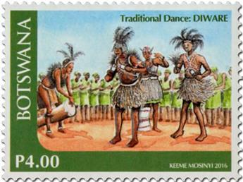 n° 1158 - Timbre BOTSWANA Poste