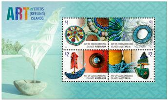 n° 20 - Timbre COCOS (ILES) Blocs et feuillets