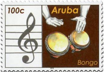 n° 939 - Timbre ARUBA Poste