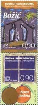 n° 389 - Timbre HERCEG-BOSNA Poste