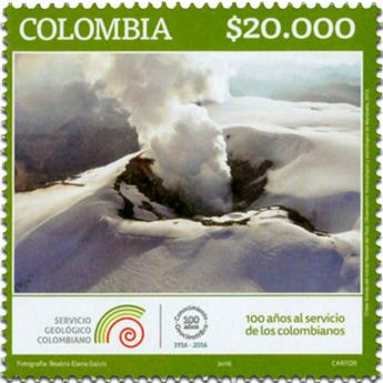 n° 1777 - Timbre COLOMBIE Poste