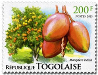 n° 4526 - Timbre TOGO  Poste