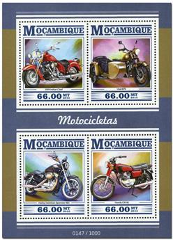 n° 6674 - Timbre MOZAMBIQUE Poste