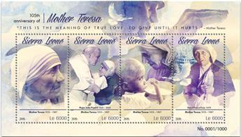 n° 5517 - Timbre SIERRA LEONE Poste