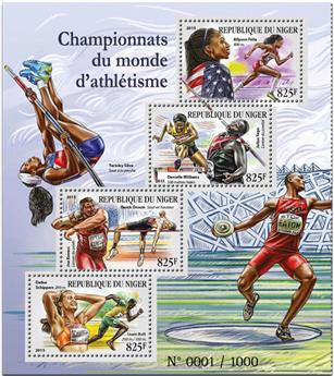 n° 3015 - Timbre NIGER Poste