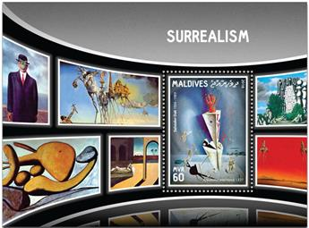 n° 974  : Timbre MALDIVES Blocs et feuillets