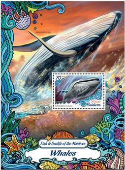 n° 989  : Timbre MALDIVES Blocs et feuillets