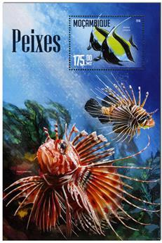n° 1068  : Timbre MOZAMBIQUE Blocs et feuillets