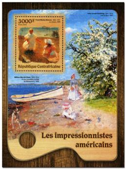 n° 1026  : Timbre CENTRAFRICAINE Blocs et feuillets