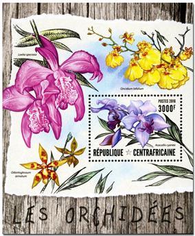 n° 985  : Timbre CENTRAFRICAINE Blocs et feuillets