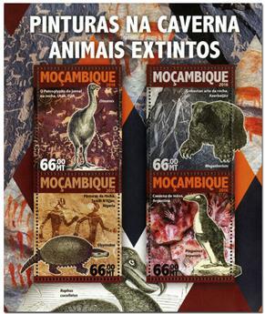 n° 6846  : Timbre MOZAMBIQUE Poste