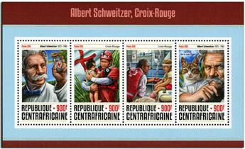 n° 4604  : Timbre CENTRAFRICAINE Poste