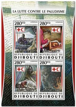 n° 1075  : Timbre DJIBOUTI Poste