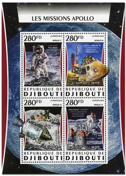n° 1095  : Timbre DJIBOUTI Poste
