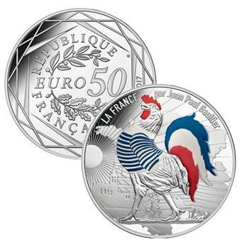 50€ - JEAN PAUL GAULTIER - 2017 (COQ MARINIERE)